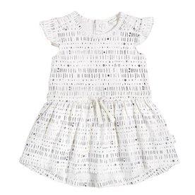 Miles Baby 'Miles To Go' White Dress