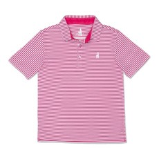 Johnnie-O Johnnie-O Bunker PREP-FORMANCE Striped Jr. Polo