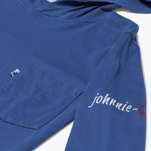 Johnnie-O Johnnie-O Eller Jr. Long Sleeved Hooded Shirt