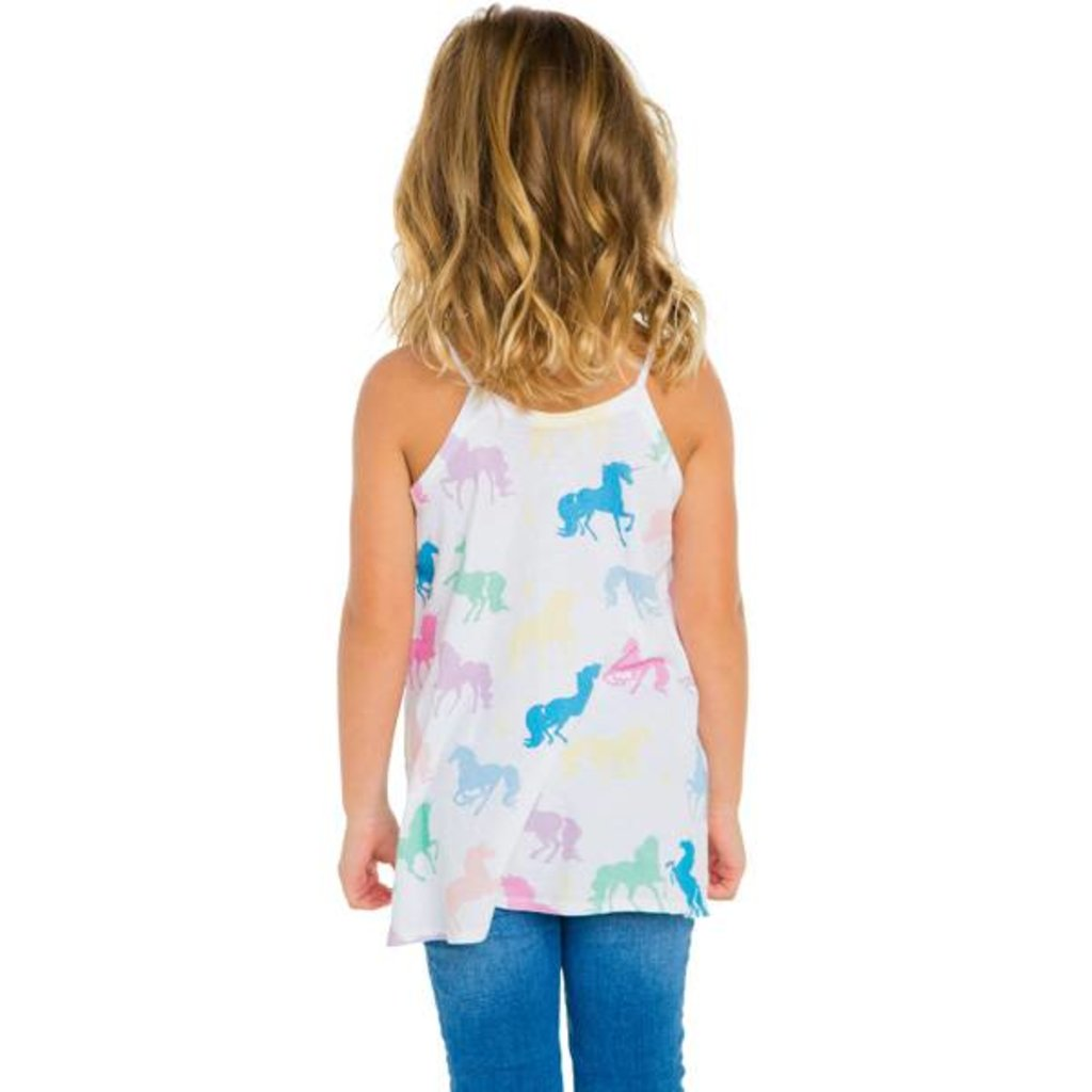 Chaser Kids Chaser Girls Flounce Cami Tank - Size 6