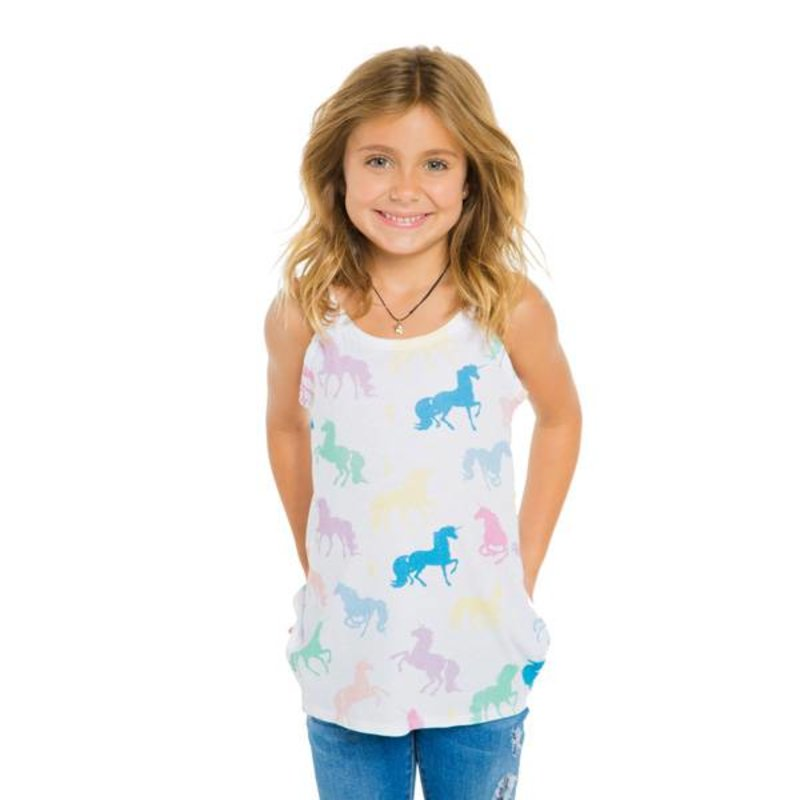 Chaser Kids Chaser Girls Flounce Cami