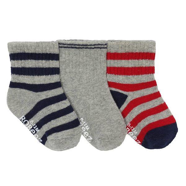 Robeez Robeez Boys 3 Pair Socks