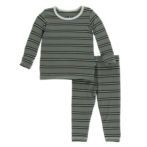 KicKee Pants KicKee Pants Print Long Sleeve PJ Set