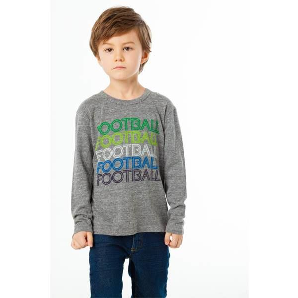 Chaser Kids Chaser Kids Boys Long Sleeve Crew Neck Tee