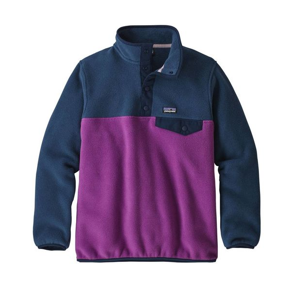 Patagonia Patagonia Girls Lightweight Synchilla Snap-T Fleece Pullover
