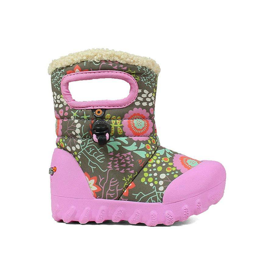 Bogs Baby B Moc Reef Boots Yellow Turtle