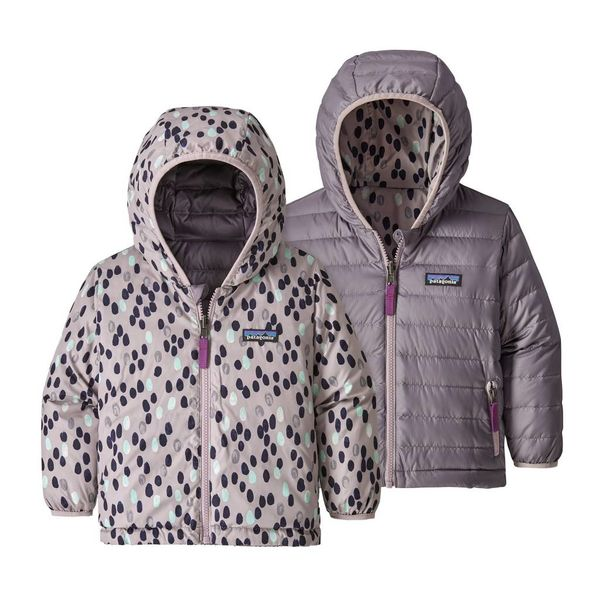 Patagonia Patagonia Baby Girl Reversible Down Sweater Hoody