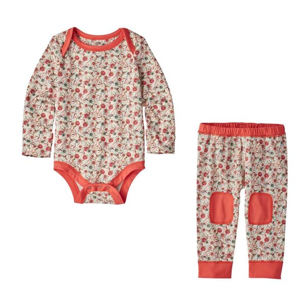 Patagonia Patagonia Girls Infant Capilene Set
