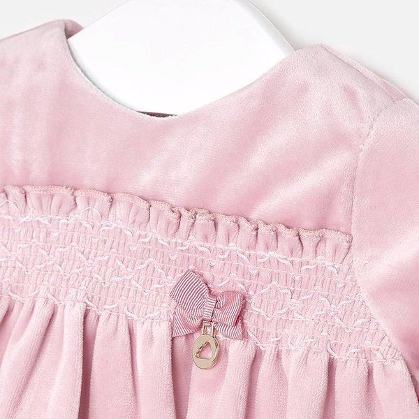 Mayoral Mayoral Baby Girl Velvet Dress
