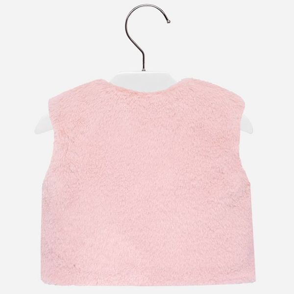 Mayoral Mayoral Faux Fur Baby Girl Vest