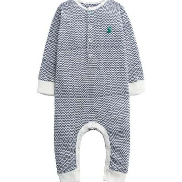 Joules Joules Baby Webely Waffle Printed Onesie