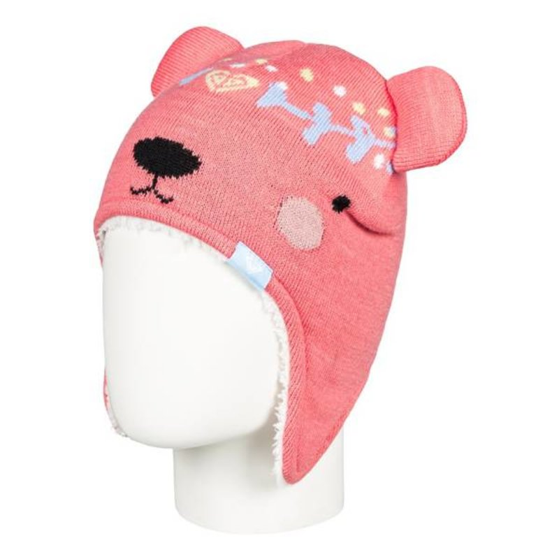 Roxy Roxy Little Girls Bear Beanie
