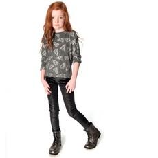 Appaman Appaman Girls Black Sparkle Leggings - Size 14