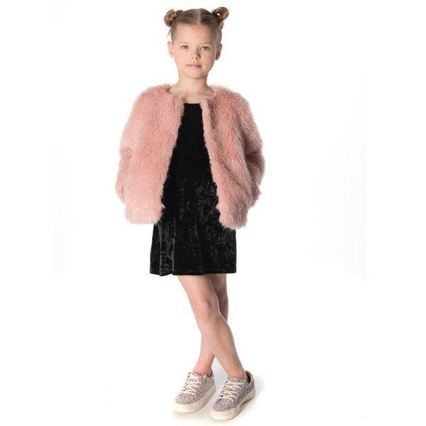 Appaman Appaman Girls Faux Fur Coat