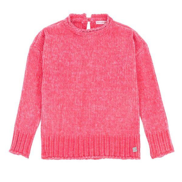 Deux par Deux Deux par Deux Girls Chenil Sweater