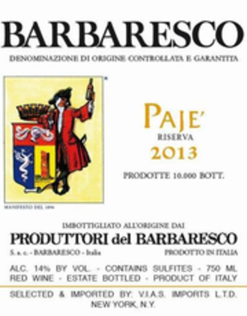 Italy Produttori del Barbaresco, 'Paje' Riserva 2015
