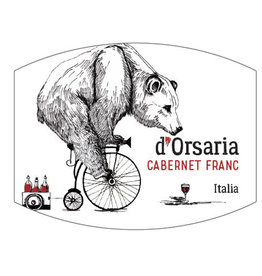 Italy Cecchini, 'D'Orsaria' Cabernet Franc 2017