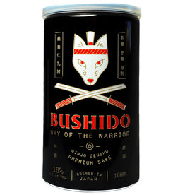 Bushido, 'Way of the Warrior' Ginjo Genshu Sake Can (NV) · 180 mL
