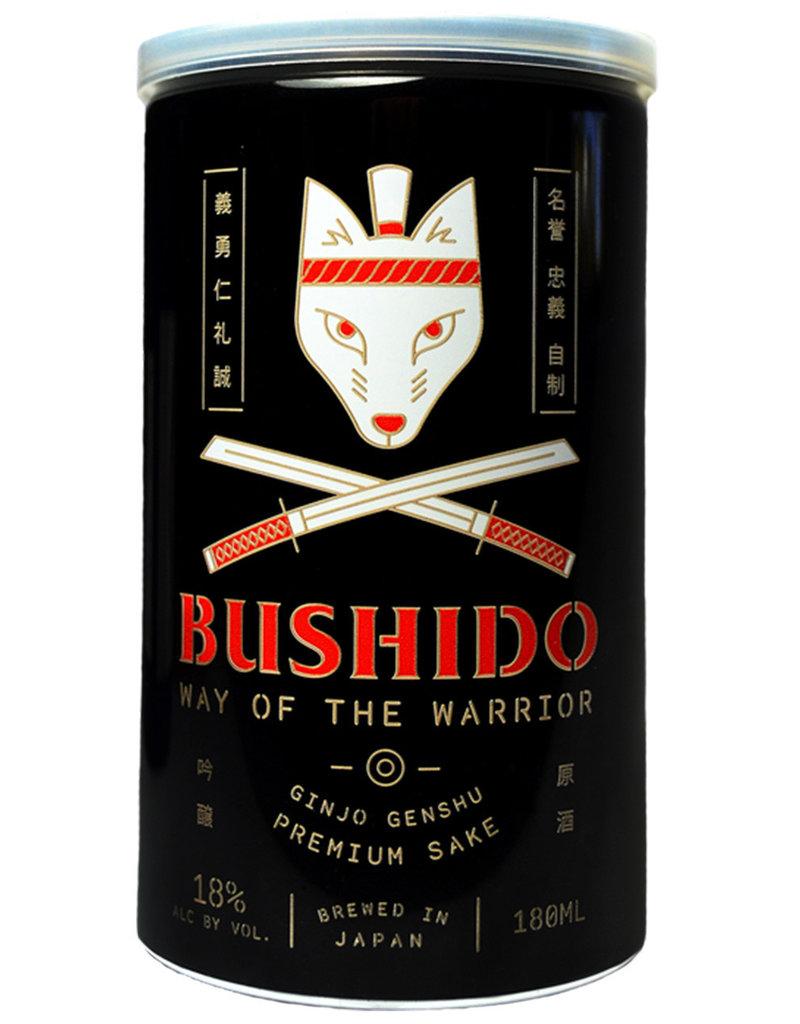 Bushido, 'Way of the Warrior' Ginjo Genshu Sake Can (NV) · 180 mL