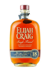 Elijah Craig, 18-Year Single-Barrel Bourbon - 750mL