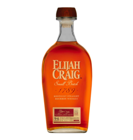 Elijah Craig, Small Batch Bourbon - 750mL