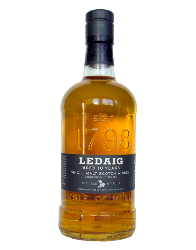 Ledaig, 10-Year Single-Malt Scotch - 750mL