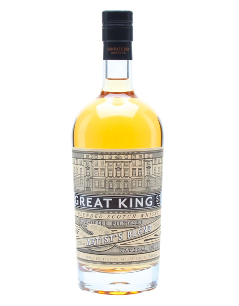 Compass Box, Large Great King St. Artist's Blend (Unpeated) - 750 mL