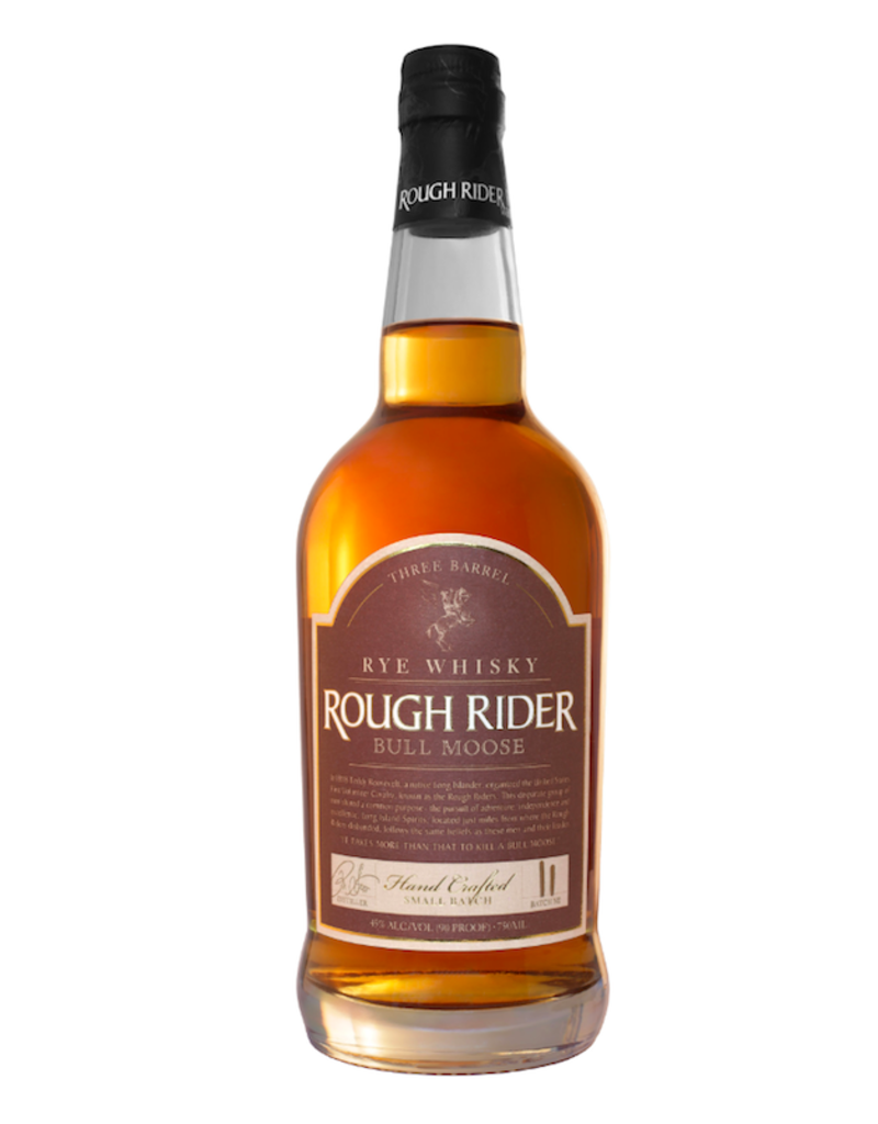 Rough Rider, Bull Moose Three Barrel Rye (NV)  - 750mL
