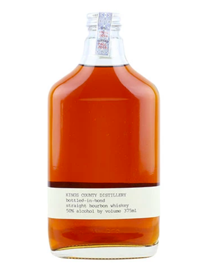 Kings County Distillery, Bottled In Bond Whiskey  - 375mL