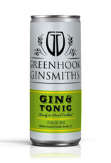 Greenhook Ginsmiths, Gin & Tonic  Can- 200mL