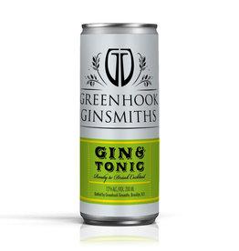Greenhook Ginsmiths, Gin & Tonic - 200mL