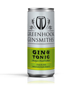 Greenhook Ginsmiths, Gin & Tonic Can - 200mL
