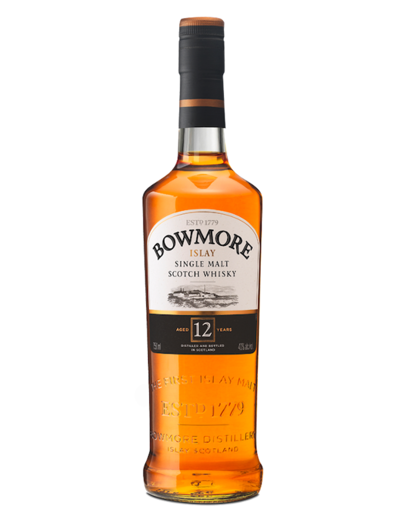 Bowmore, 12-Year Single Malt Scotch - 750mL
