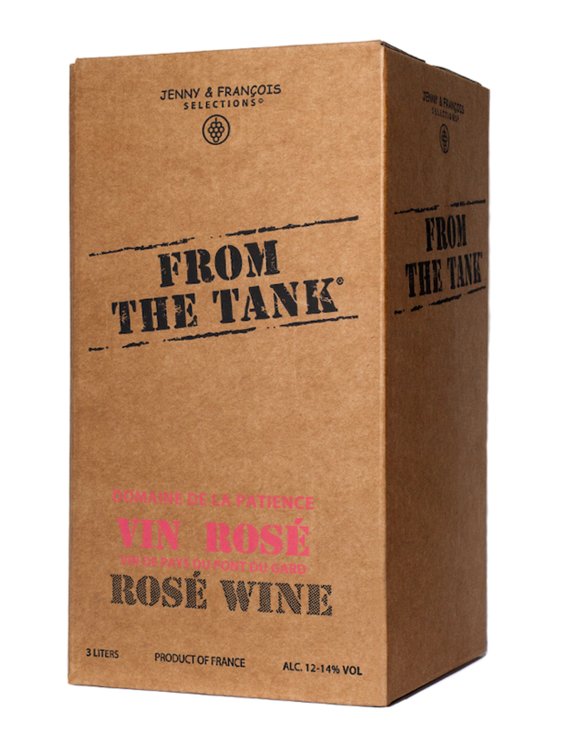 France From the Tank (Patience), Rose (NV) - 3L Box