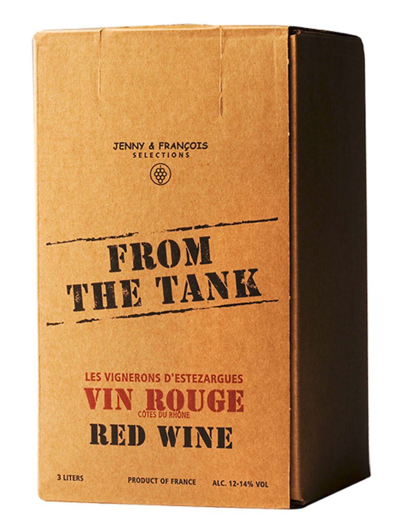 France From the Tank, Cotes du Rhone Rouge (NV) - 3L Box