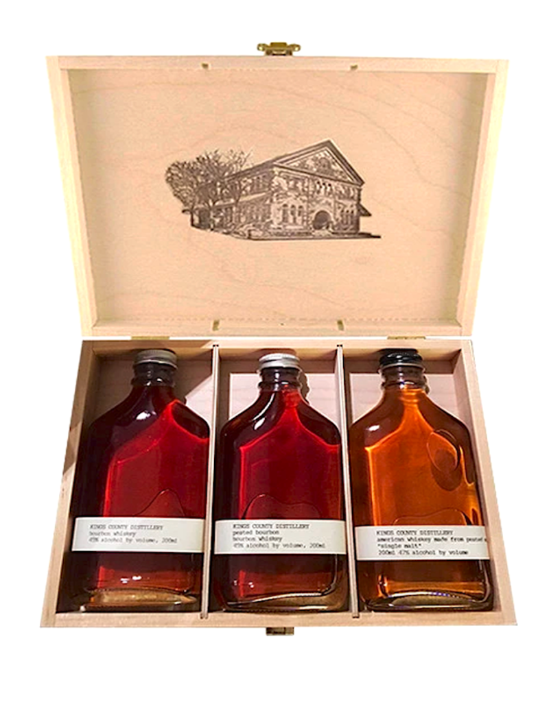 Kings County Distillery, Aged Whiskey Gift Set