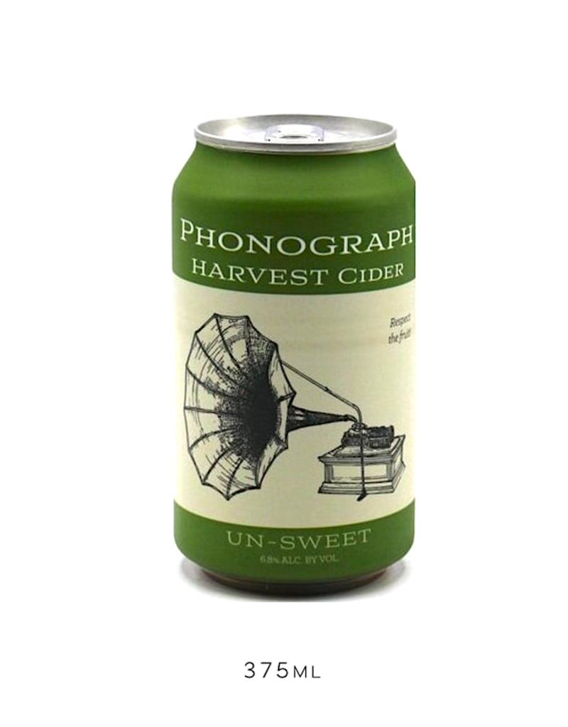 USA Phonograph, Harvest Cider (Dry) - 375mL