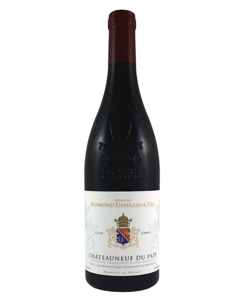 France Usseglio, 'Cuvee Girard' Chateauneuf Du Pape 2017
