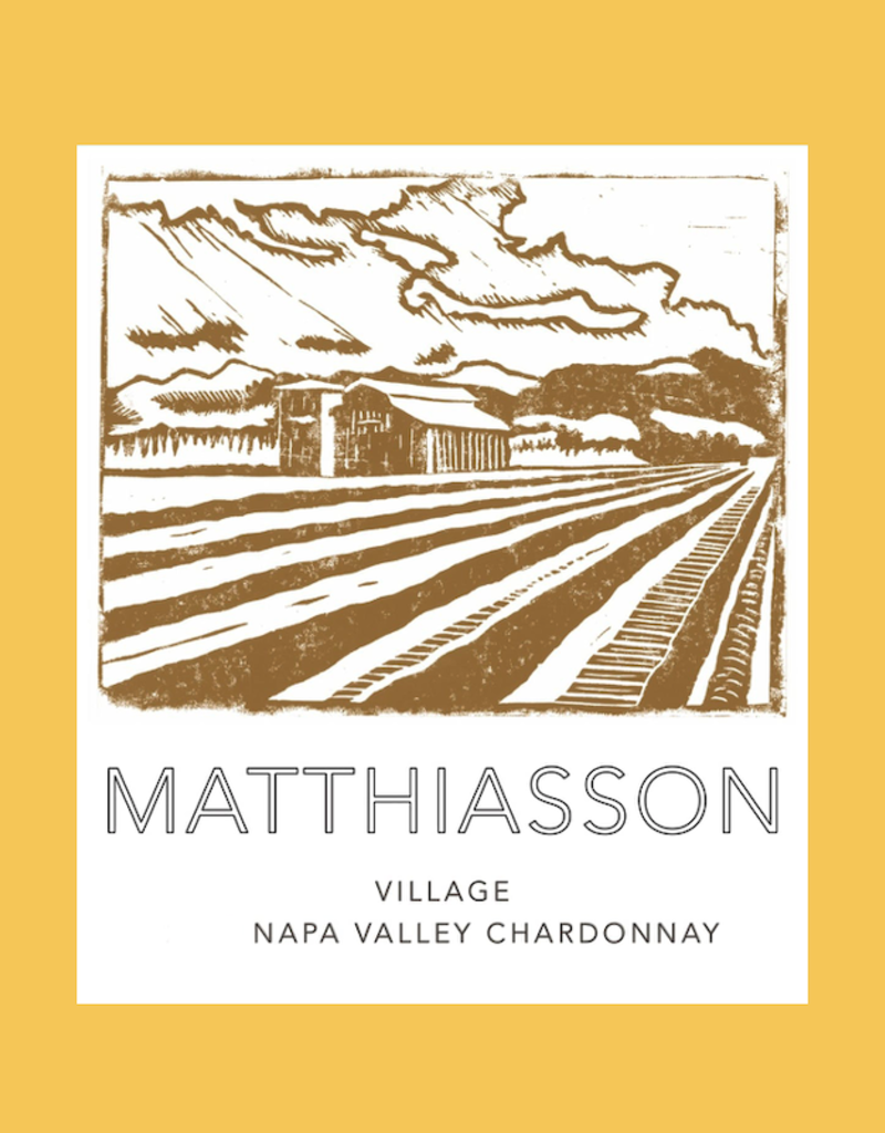 USA Matthiasson, Napa Valley Village Chardonnay No.1 2019