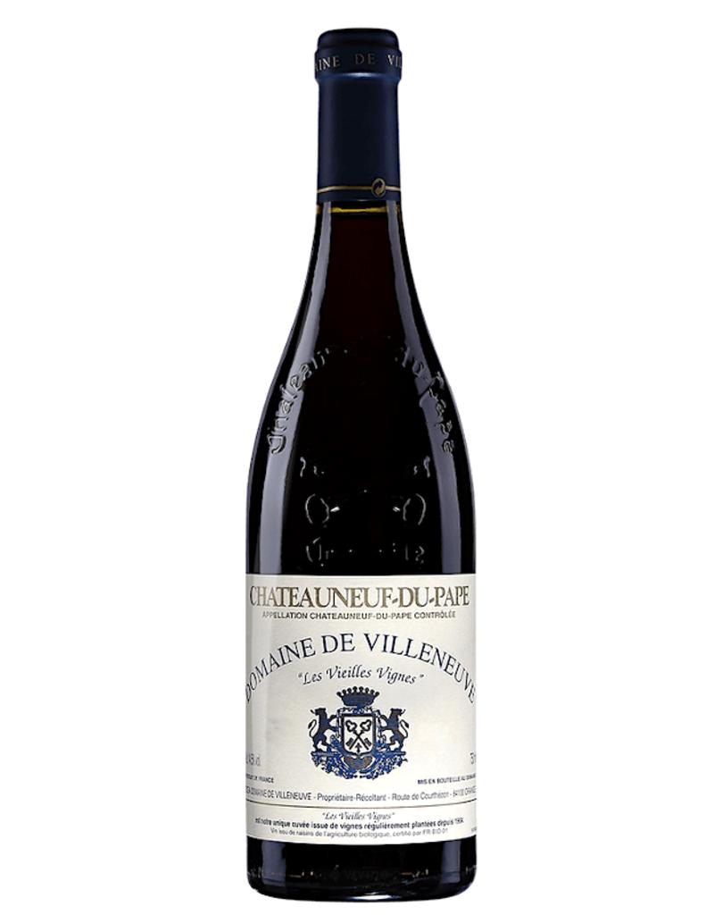 France Villeneuve, Chateauneuf du Pape 'Les Vieilles Vignes' 2012