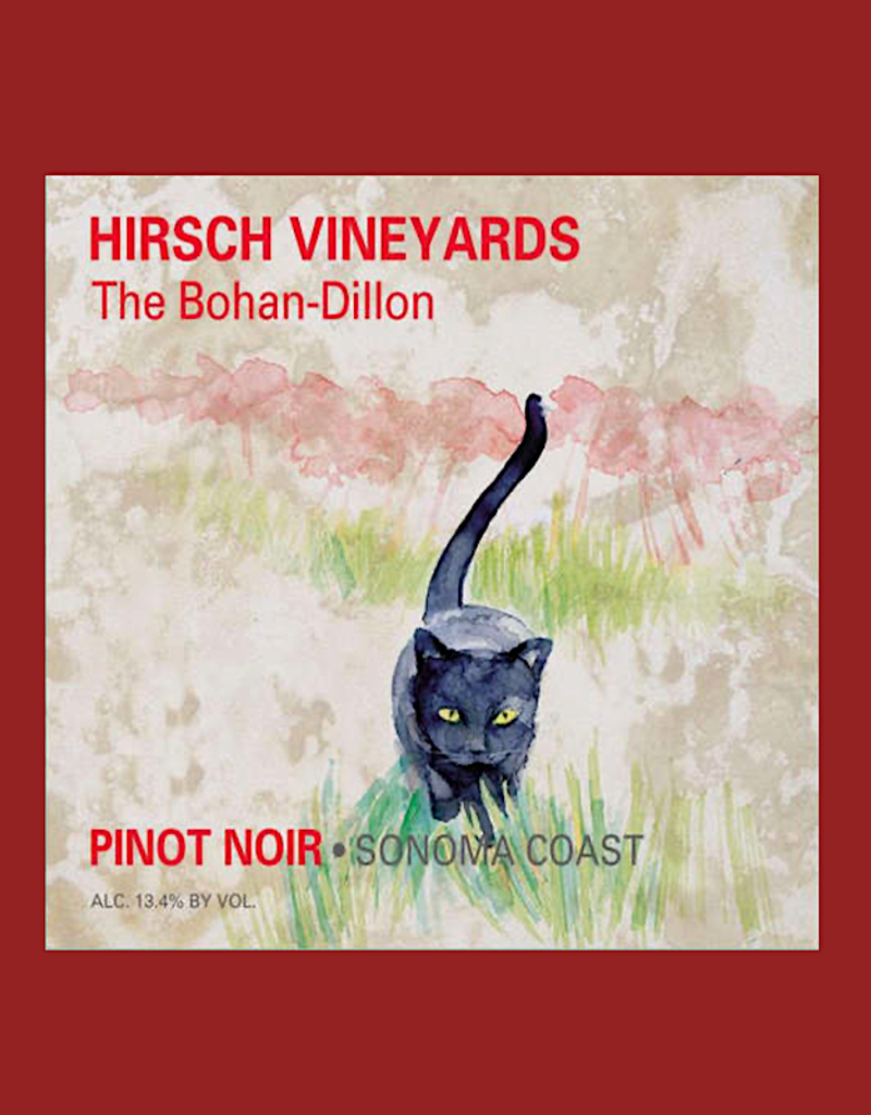 USA Hirsch , 'The Bohan-Dillon' Sonoma Coast Pinot Noir  2018