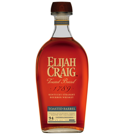 Elijah Craig, 8-Year Toasted Barrel Bourbon - 750mL