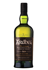 Ardbeg, 10-Year Islay Single-Malt Scotch - 750mL
