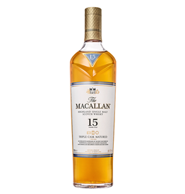 The Macallan, 15 Year Double Cask Single Malt Scotch - 750mL
