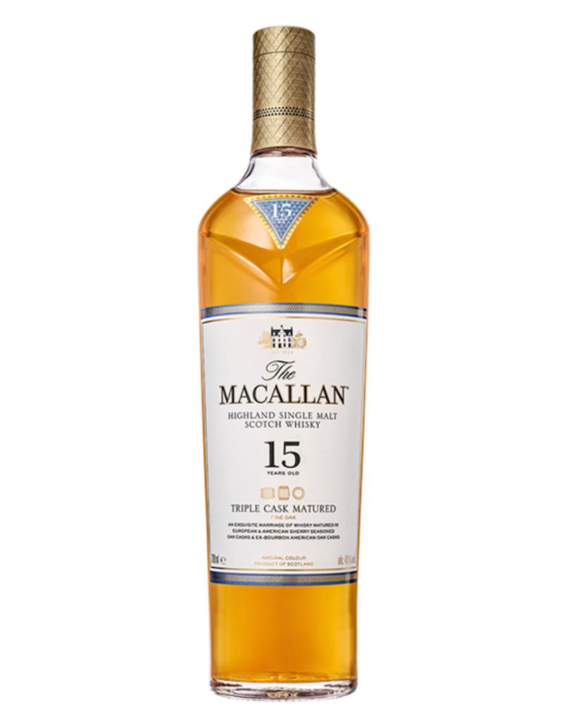 The Macallan, 15 Year Double Cask Single Malt Scotch - 750mL