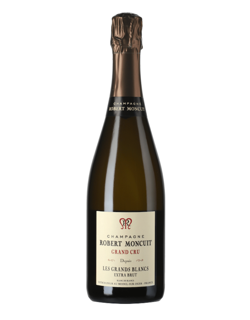 France Robert Moncuit, Grand Cru Blanc de Blancs (NV)