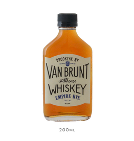 Van Brunt Stillhouse, Empire Rye Whiskey Flask- 200mL