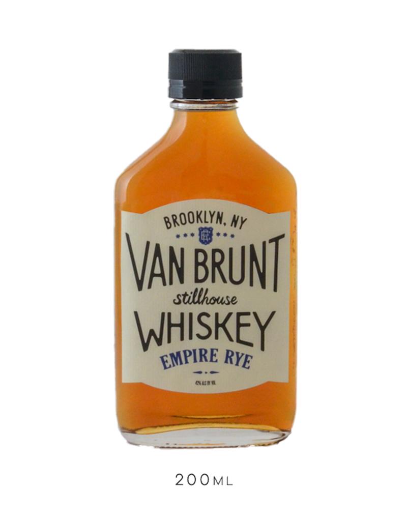 Van Brunt Stillhouse, Empire Rye Whiskey Flask- 200mL
