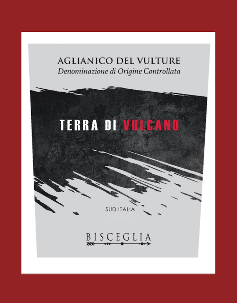Italy Bisceglia, Aglianico Terre di Vulcano 2018
