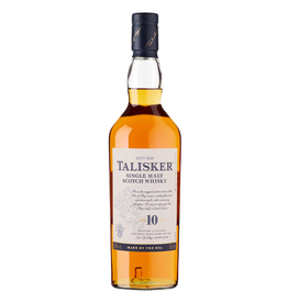 Talisker, 10 Year Single Malt Scotch - 750mL